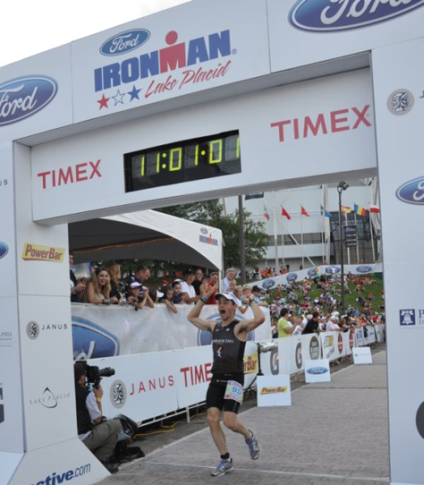 Finish IM Lake Placid 2009