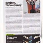 Running versus Triathlon Running